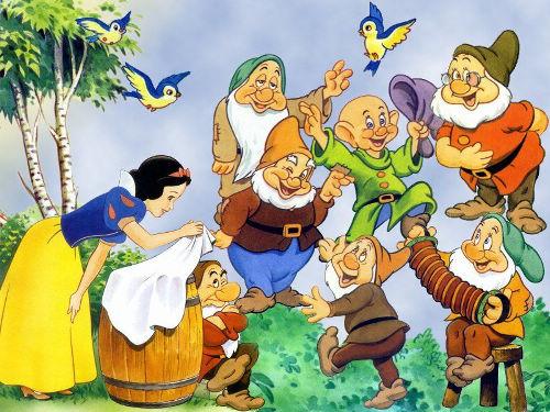 BlancheNeige et les 7 nains